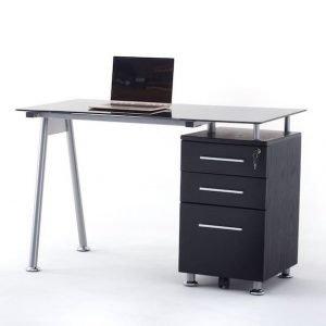 scrivania record nera