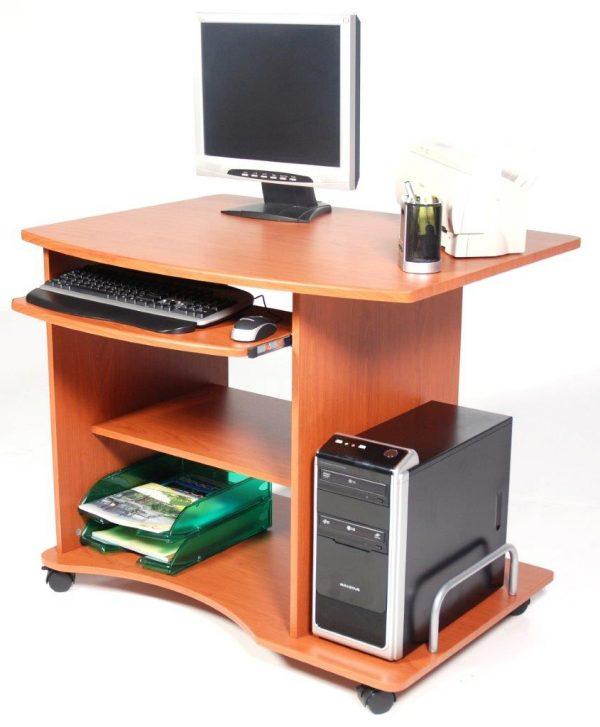 scrivania smart ciliegio